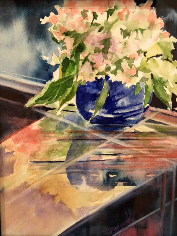 Hydrangeas and Thyme (sold)